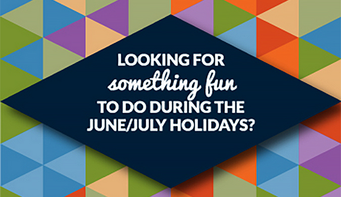 Looking for something fun to do during the June/July holidays? Head to www.youth.nt.gov.au