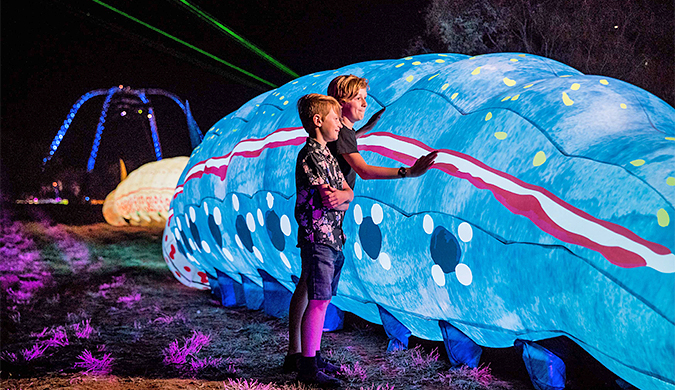 Parrtjima, a spectacular Indigenous light festival has lit up Alice Springs