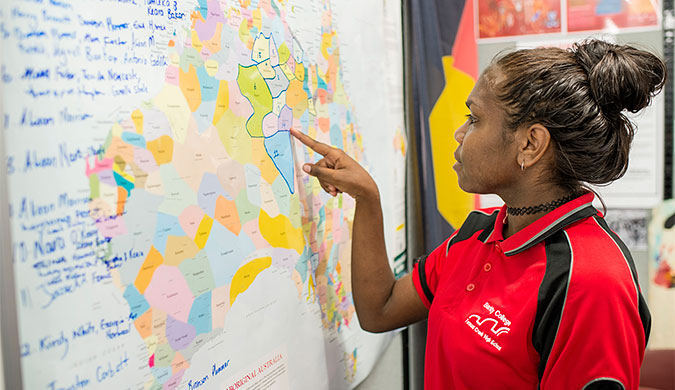Students have the opportunity to learn how to translate between English and Indigenous languages