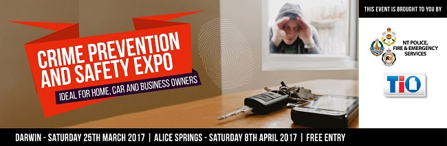 The inaugural Crime Prevention and Safety Expo will be held over the weekend