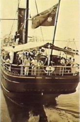 Ship - Ronald Lister collection, NT Library