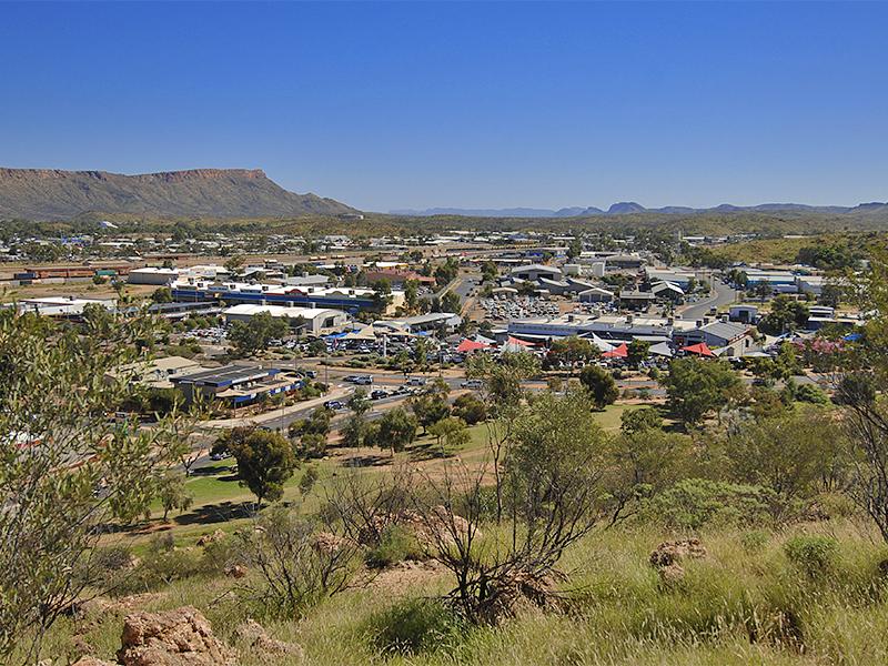 Open Territory in Central Australia