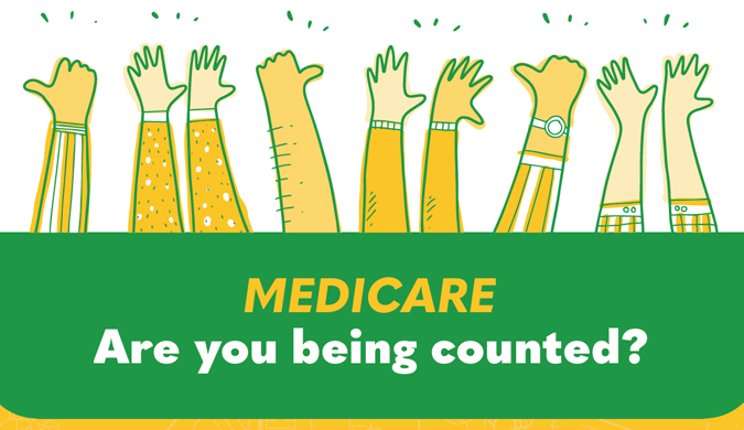 Medicare 'Are you being counted?' competition