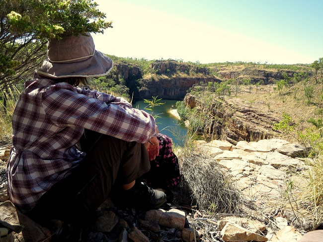 The Walk in the Park program provides the opportunity to explore incredible sights in the Northern Territory's