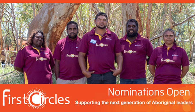 Nominations now open for the First Circles Leadership Program