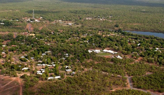 Aerial photograph of Jabiru