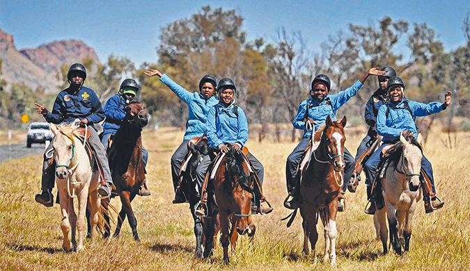 'Aranda Tribe Ride for Pride' on eight-day journey