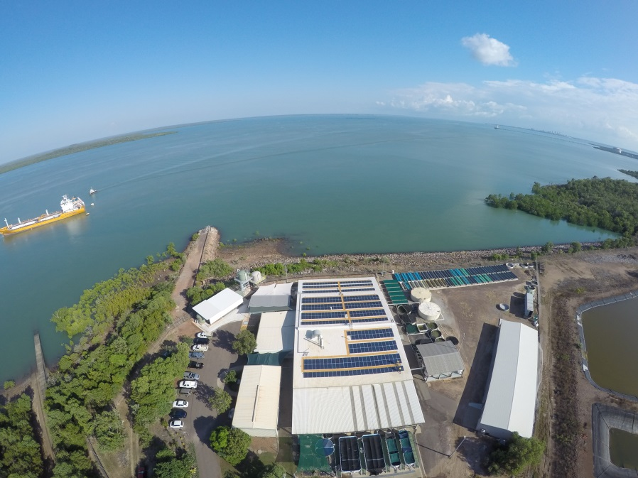 Darwin Aquaculture Centre - photo courtesy Dave Wilson