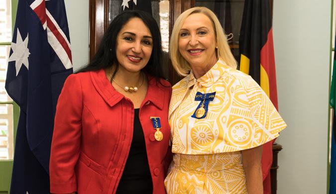 Mrs Jayanthi Srinivas OAM