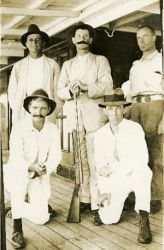 Military men - Ronald Lister collection, NT Library